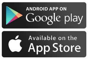 Android & App Store logos